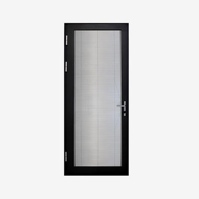 Aluminium Door Frame Profile Tempered Glass Door Third Aluminum